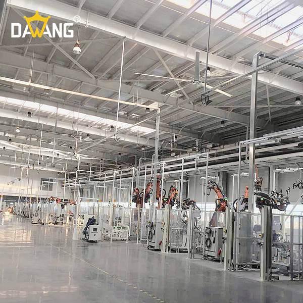 溧阳进口大型工业风扇上门安装 创新服务 苏州大王环境科技供应