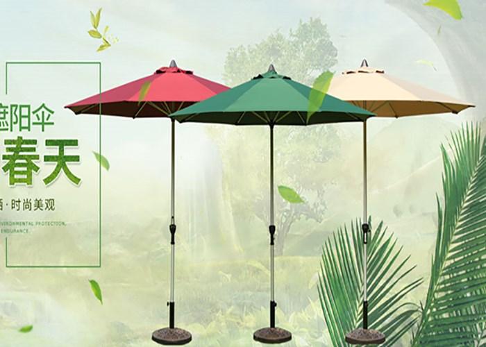 昆明广告太阳伞经销商 欢迎来电 云南昆明飞宏伞篷厂家供应