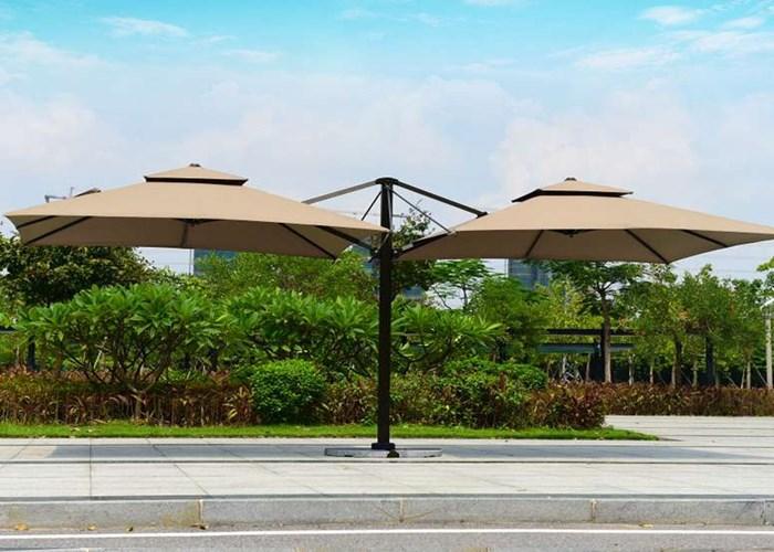 昆明双头罗马伞公司 创造辉煌 云南昆明飞宏伞篷厂家供应