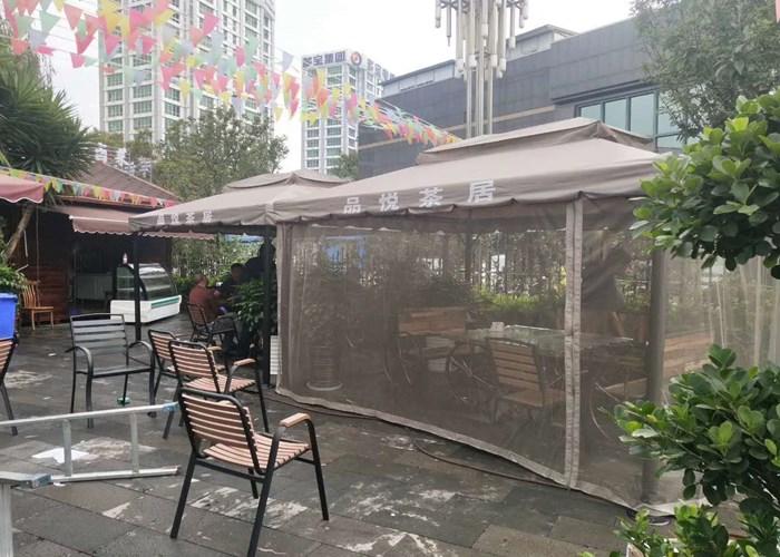 贵州花鸟亭公司联系电话 欢迎来电 云南昆明飞宏伞篷厂家供应