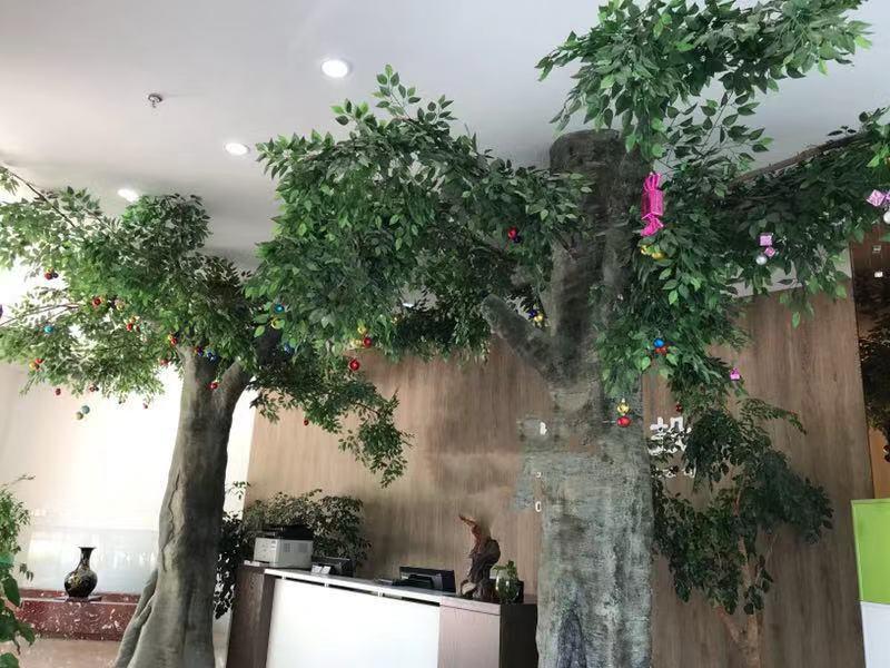 自制仿真树的塑造流程,仿真树