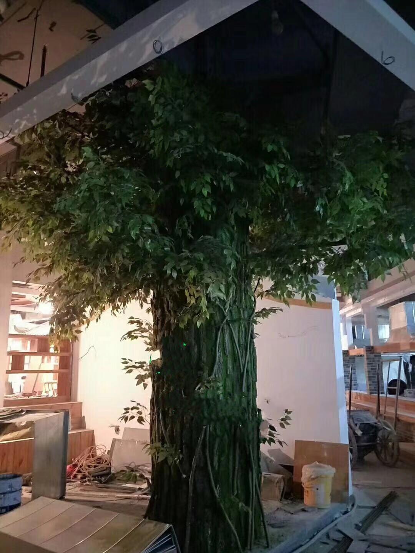常州仿真树的塑造流程,仿真树