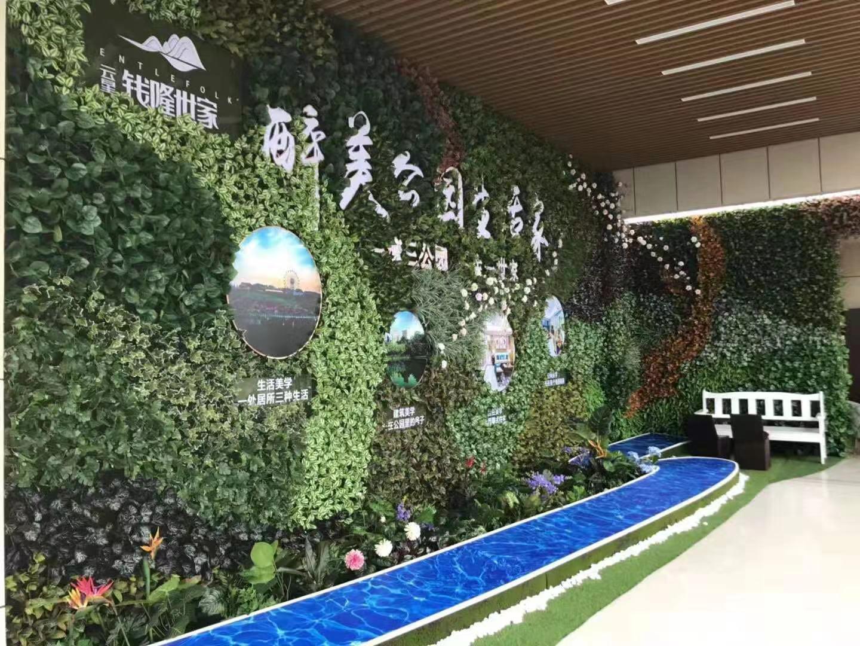生态绿植墙设计打造