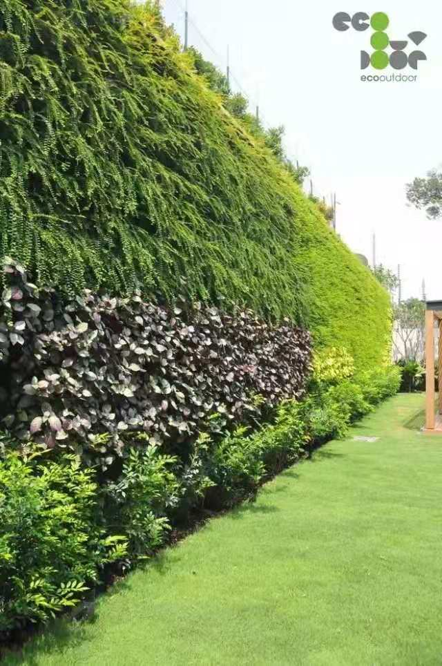 假绿植墙造型,绿植墙