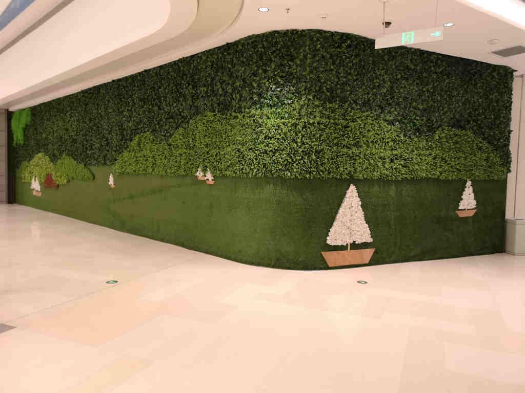 连云港别墅绿植墙,绿植墙