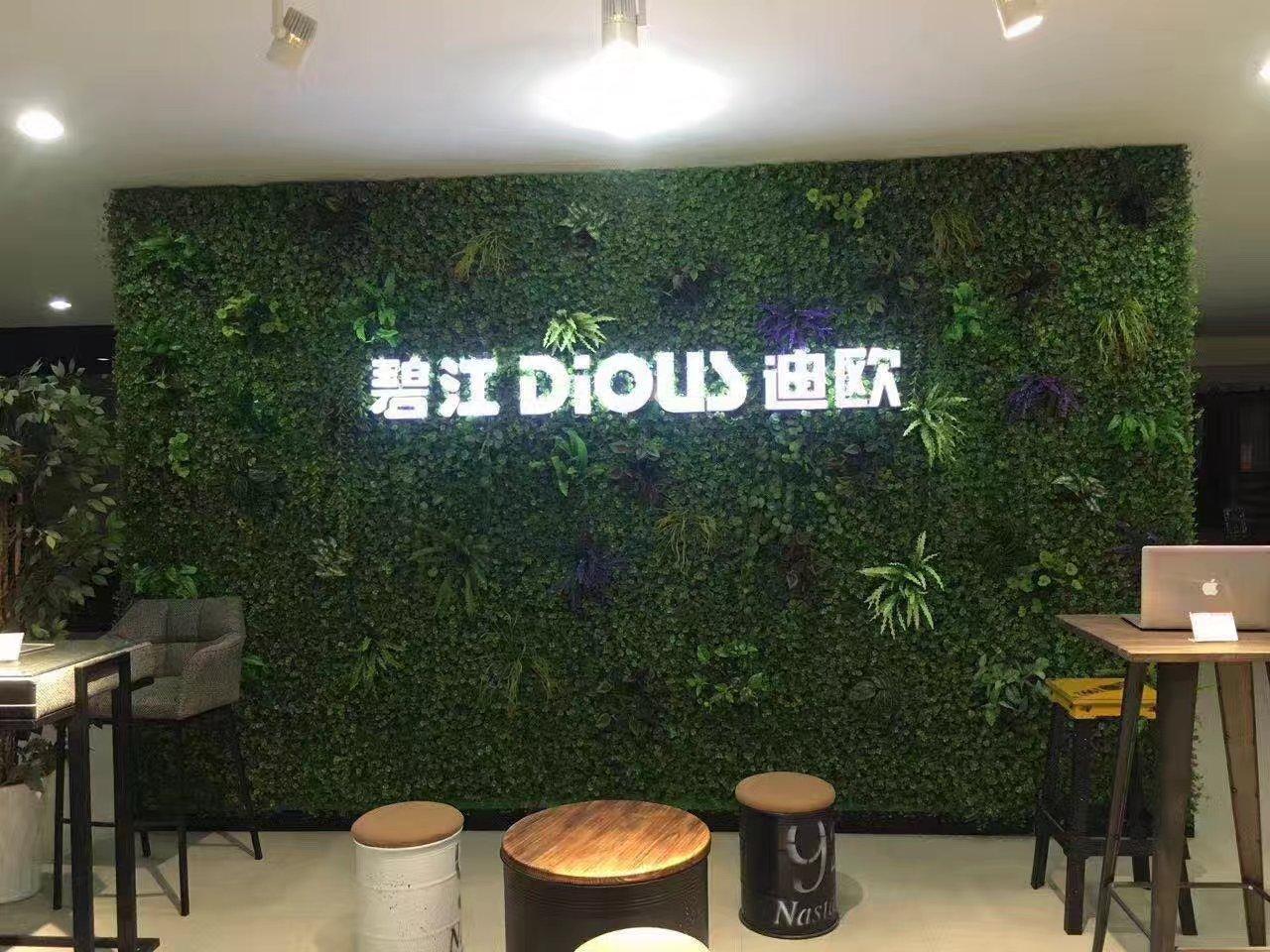 山東植物牆製作公司 鑄造輝煌「相城經濟技術開發區御景源裝飾材料供應」