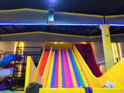 山西超級大蹦床上門服務「溫州嗨童游樂設備供應」