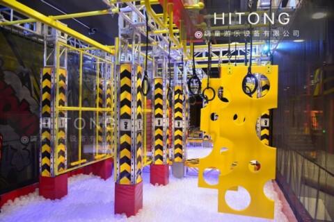 黑龙江超级大蹦床安装厂家「温州嗨童游乐设备供应」