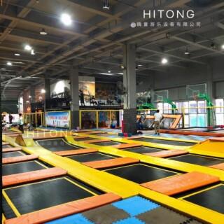 江西直销超级大蹦床「温州嗨童游乐设备供应」