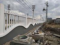 南安手工水泥仿木栏杆特点