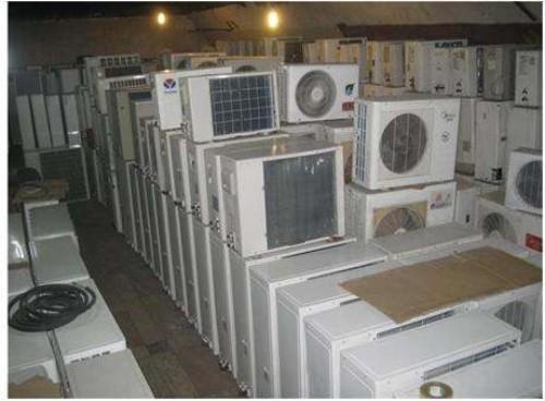 上海空调设备回收上门服务 苏州辉强再生资源回收供应