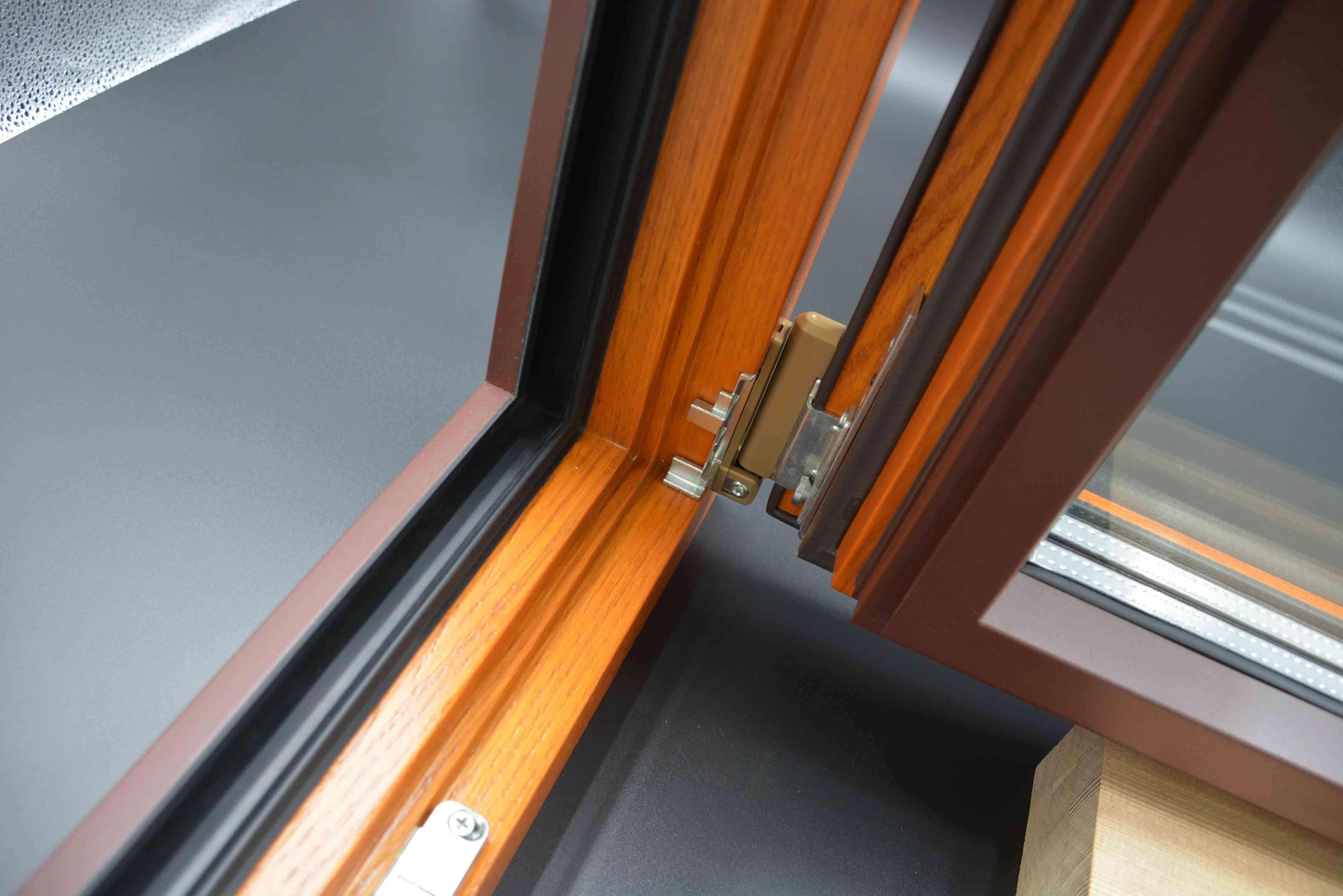 双鸭山铝包木窗厂家供应,铝包木窗