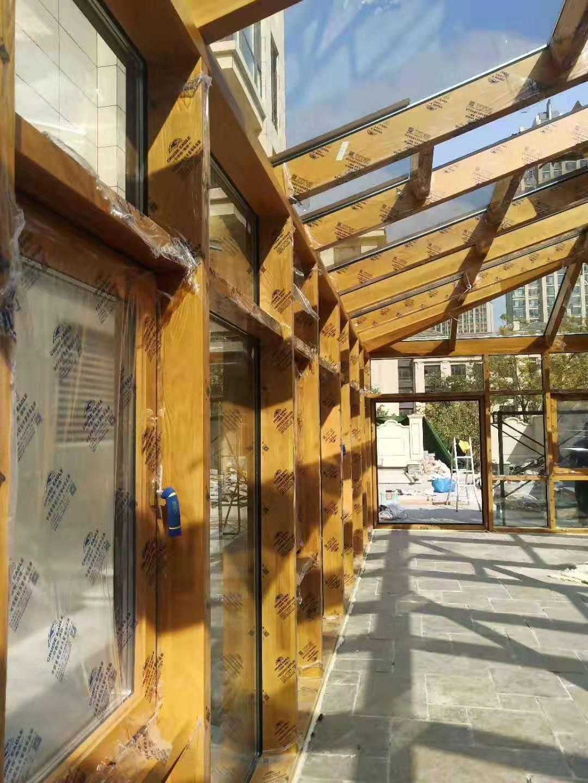 葫芦岛门窗铝包木窗厂家直供,铝包木窗