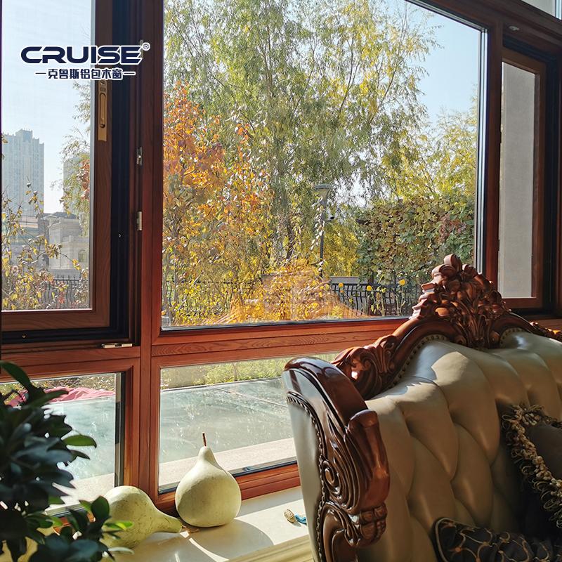 佳木斯直销铝包木窗厂家直供,铝包木窗