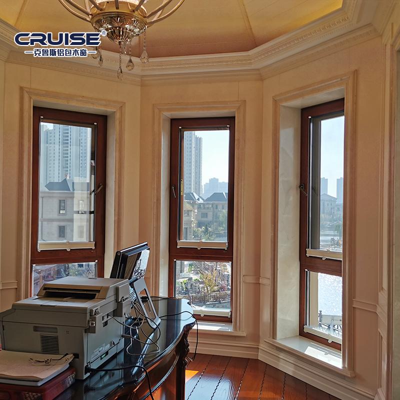 佳木斯直销铝包木窗哪家好,铝包木窗