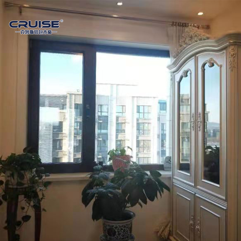 鸡西门窗铝包木窗,铝包木窗