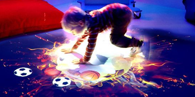交互投影游戏 创造辉煌「上海互智广告供应」