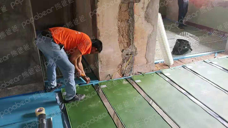 昆山熊爸爸石墨烯地暖安装价格 创造辉煌「杭州白熊科技供应」