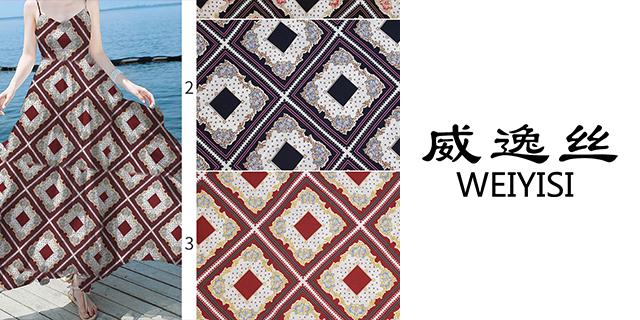 上海地区数码印花丝绸订制,数码印花