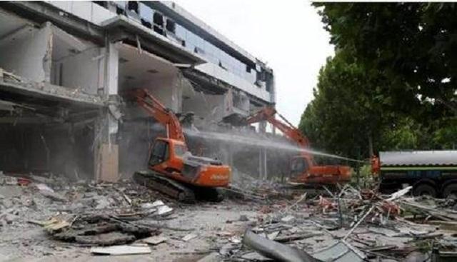 泰安廠房拆除工程施工「江豐供應」