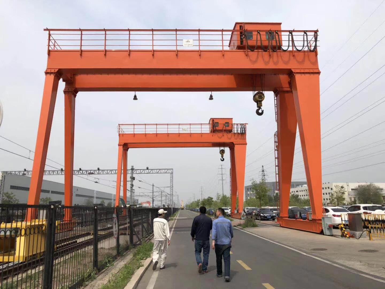 宁波正规门式起重机 河南省匠人起重机械供应