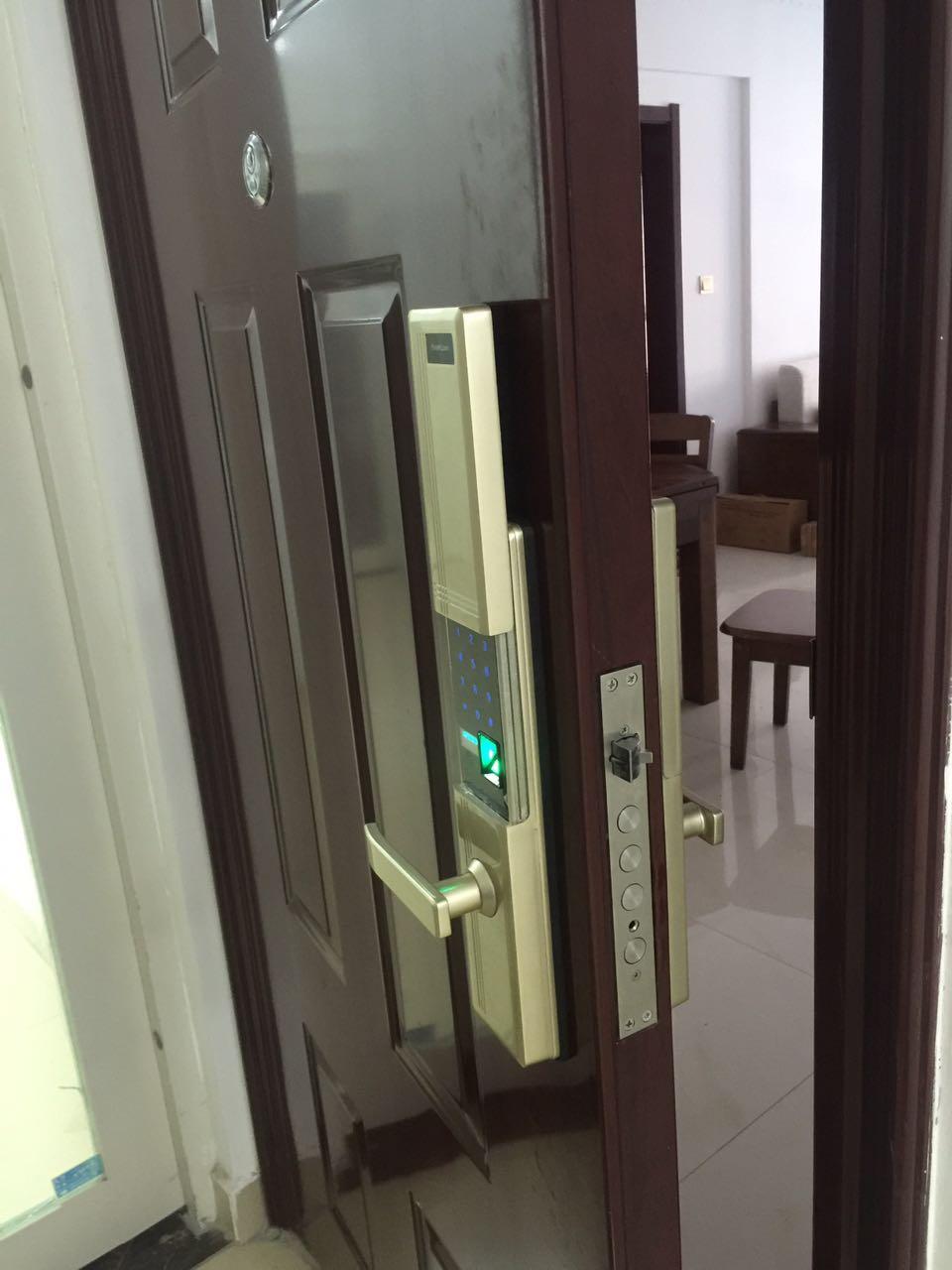 陕西师范大学长安校区89392110换锁欢迎来电 门禁维修 西安金锁王安防科技供应