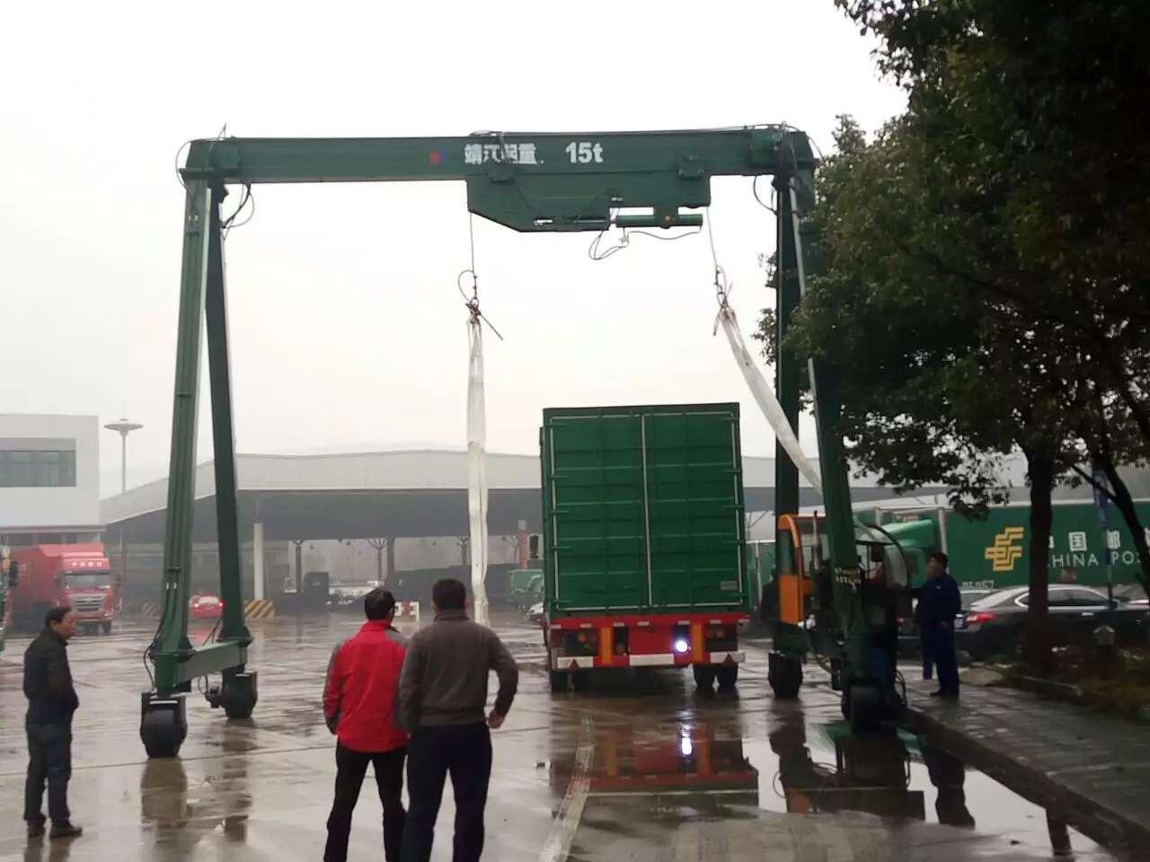 山東碼頭龍門吊制造商,龍門吊