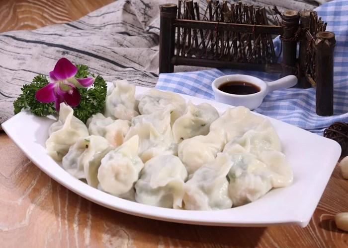 虾仁水饺店铺 诚信经营「云南聚客餐饮管理供应」