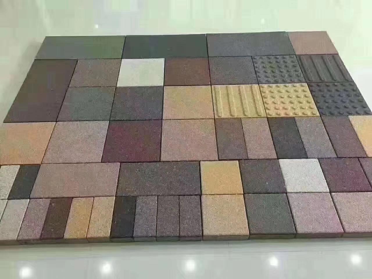 梁山环保彩砖价格,彩砖