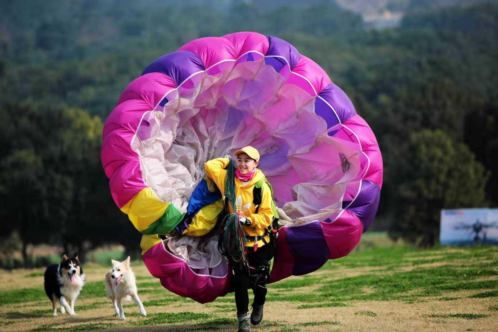 盐城单人单人伞「江阴澄飞体育旅游供应」