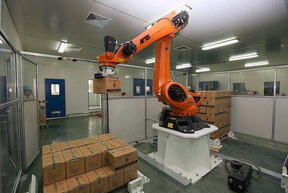 嘉兴口碑好搬运码垛机器人多少钱,搬运码垛机器人