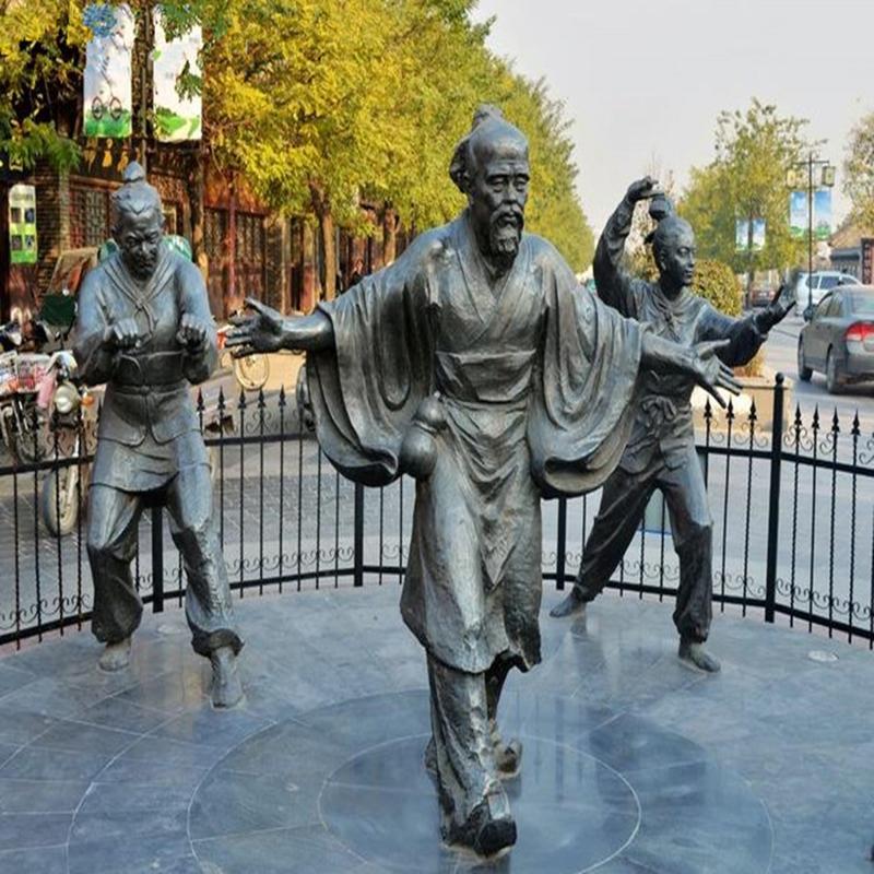 重庆中高端铸铜雕塑 信息推荐 曲阳县绿傲园林雕塑供应