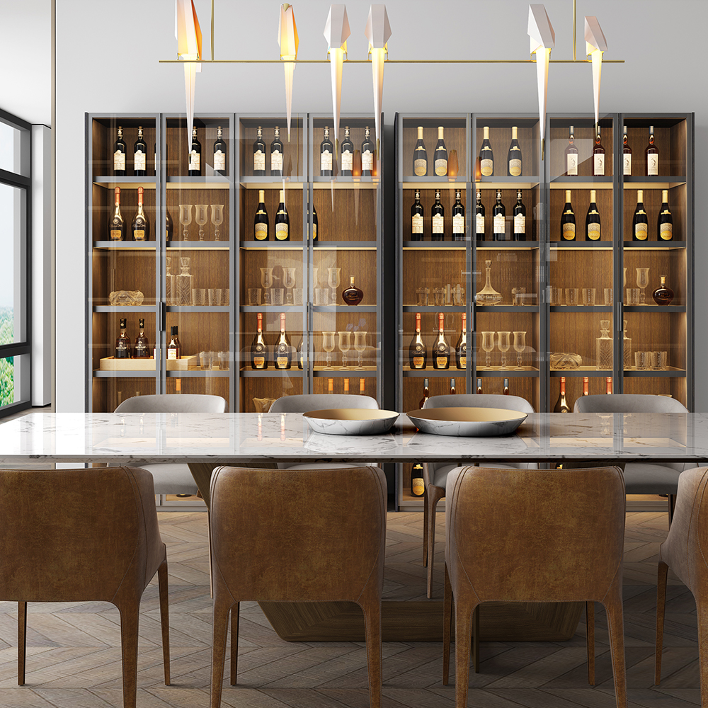 重庆原木酒柜 铸造辉煌「上海雷狄尼家具供应」