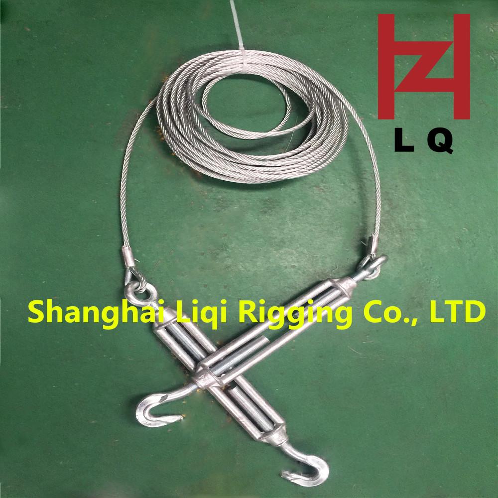 上海叉耳式减震钢丝绳索具吊装 服务至上「上海丽奇索具供应」