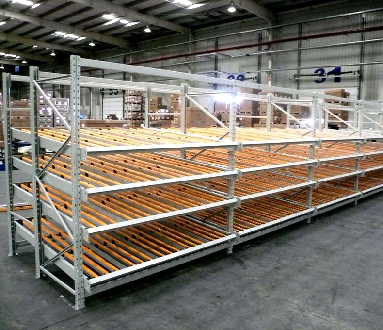 扬州流利式重型货架厂家直销 贴心服务 苏州苙泽物流设备供应