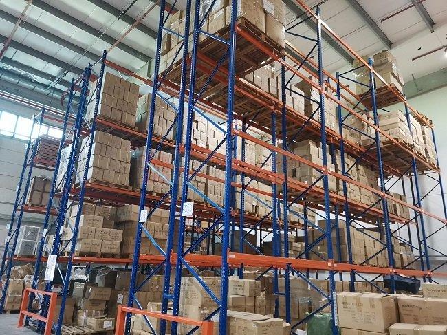 镇江托盘重型货架现货供应 诚信服务 苏州苙泽物流设备供应