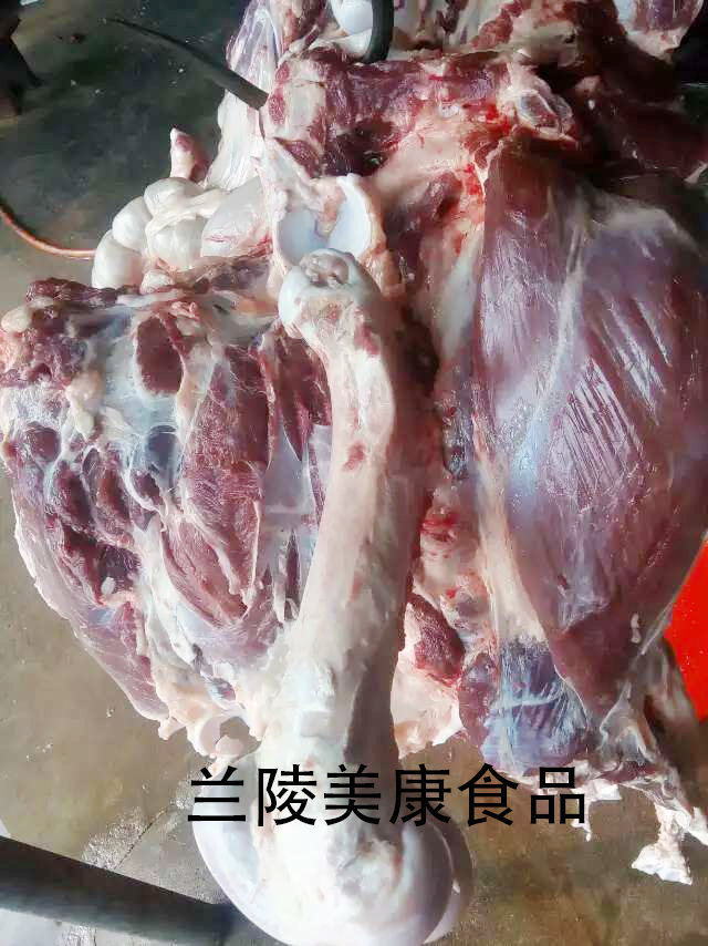 石家庄带皮白条驴肉,驴