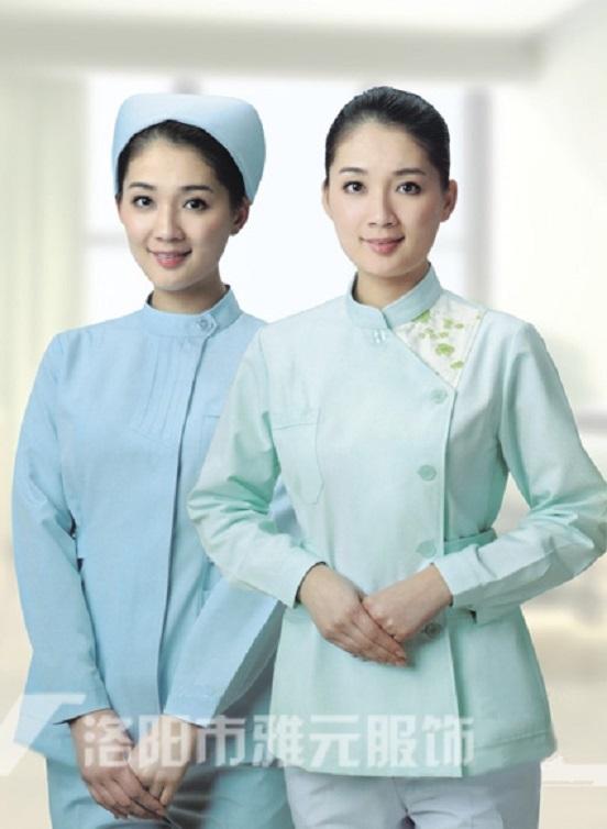 嵩縣醫院護士服套裝「洛陽市步慶祥時裝廠供應」