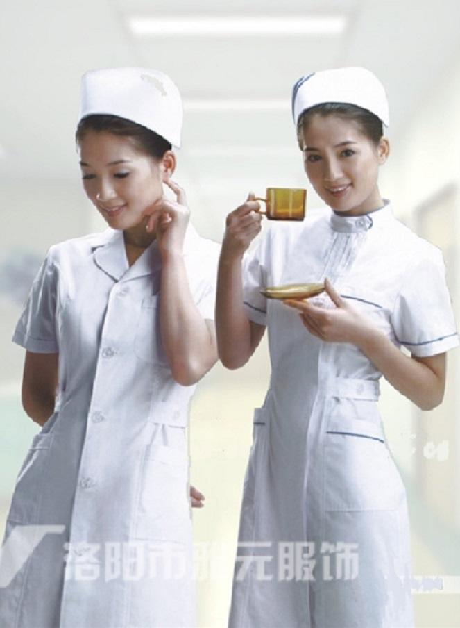 洛龙区护士服厂家订购「洛阳市步庆祥时装厂供应」