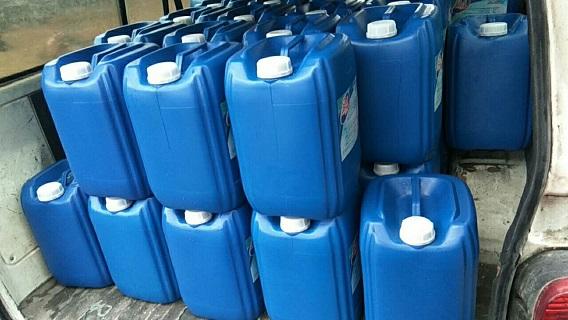 虹口区库存含氯大桶84消毒液哪家便宜 欢迎来电「上海明也办公用品供应」