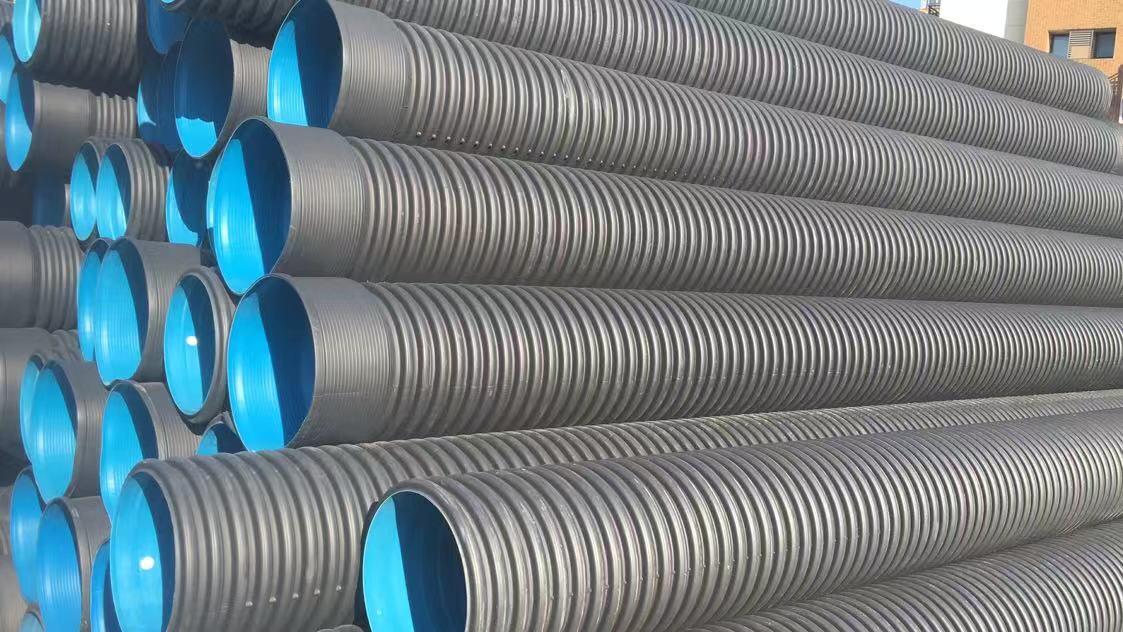耐磨能力强HDPE双壁波纹管生产厂家哪家好 欢迎来电 宁波塑通管业供应