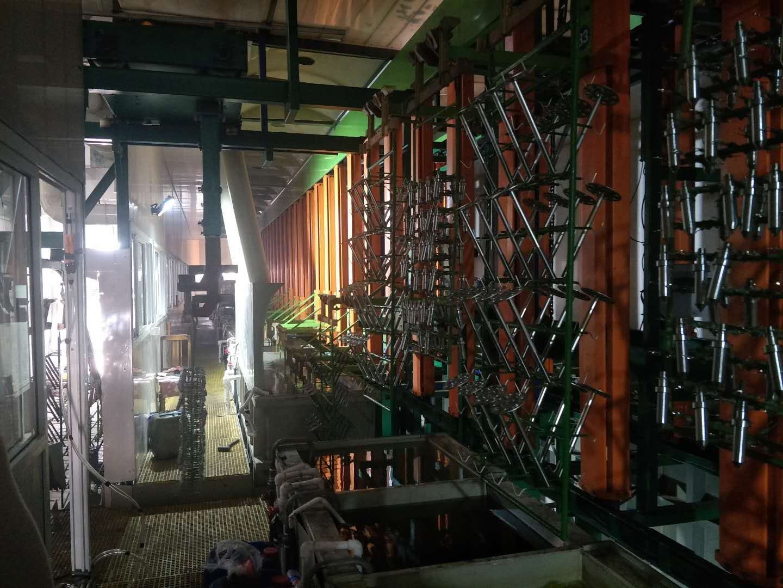 甘肃表面处理设备环形线 余姚市琰昊机械供应