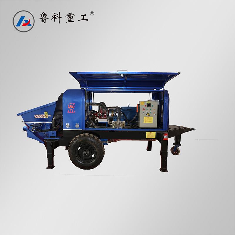 芜湖二次小型混凝土输送泵 南京鲁科重工机械供应「南京鲁科重工机械供应」