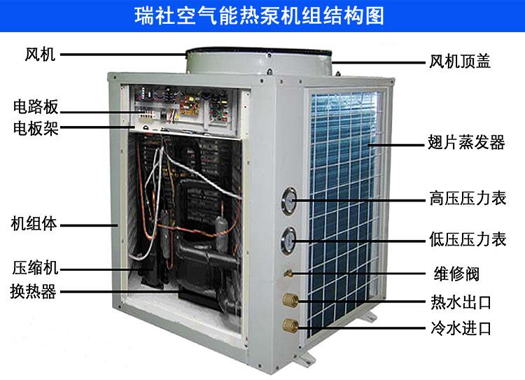 正规空气能 南京罗威环境工程供应