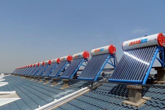 景德镇太阳能热水器厂家 南京罗威环境工程供应