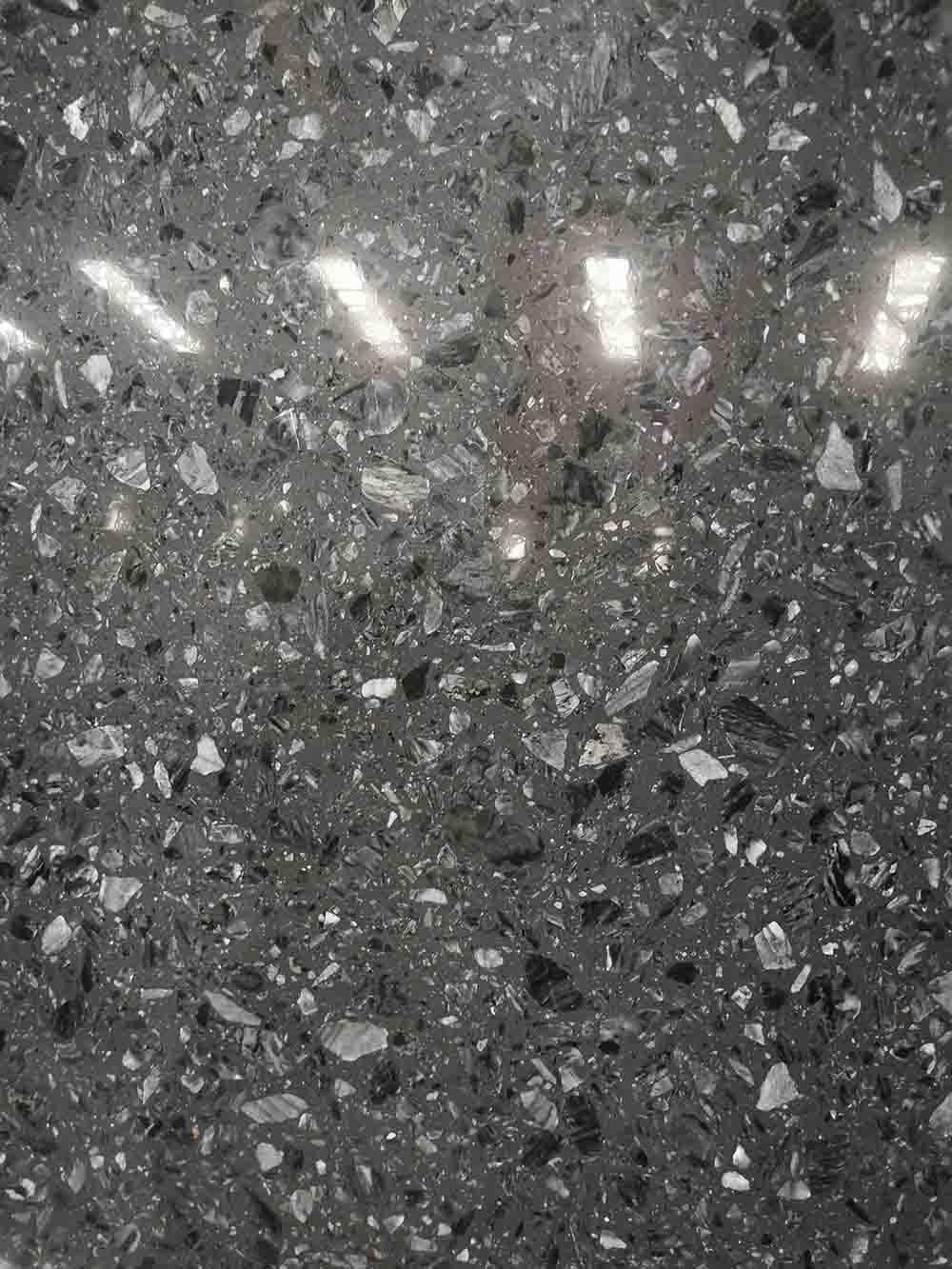 南安無機水磨石防護「新飛達石材供應」