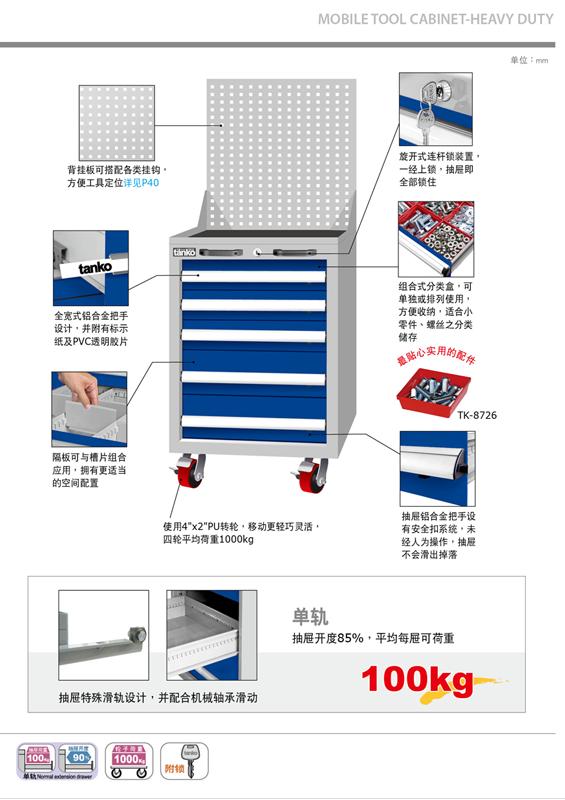 普陀区专用定制工具柜 信息推荐「上海诺兴金属制品供应」