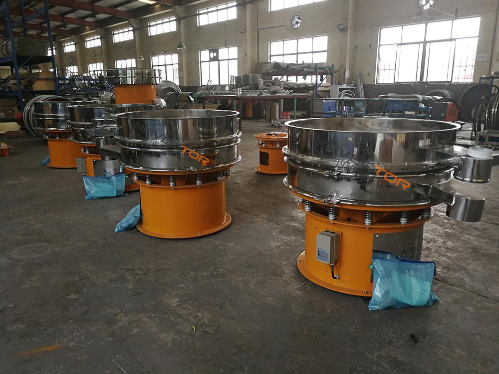 上海碳鋼旋振篩價格 誠信為本 上海納維加特篩分技術供應