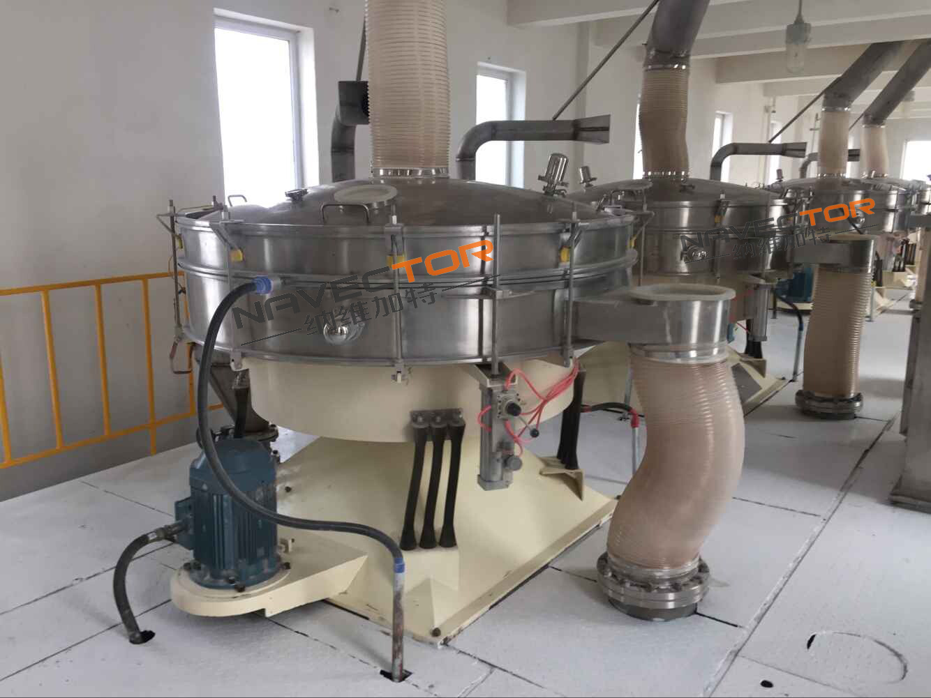 Jiangxi Ultrasonic Circular Swing Quotation Service First Shanghai Navigat Screening Technology Supply