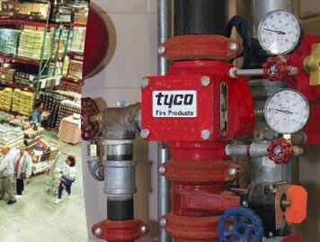 湿式报警阀组tyco泰科AV-1型特价现货